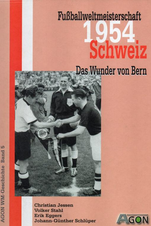 Buchcover Fußballweltmeisterschaft 1954 das Wunder von Bern